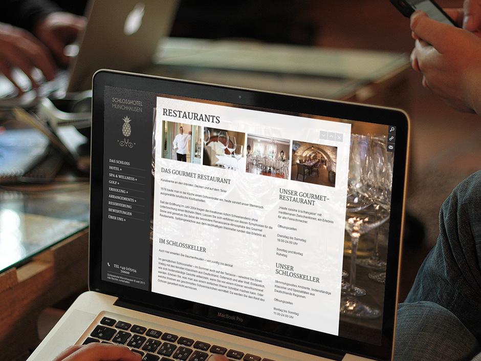 Schlosshotel Münchhausen Website 3