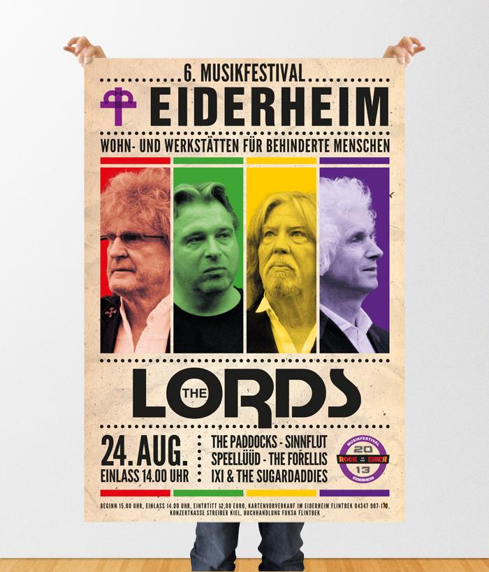 Landesverein für Innere Mission in Schleswig-Holstein 6. Eiderheim Musikfestival Poster 1